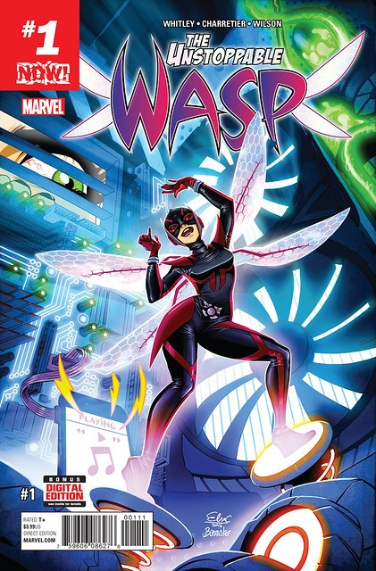 31200087884_3531085d2e_z ComicList Preview: THE UNSTOPPABLE WASP #1