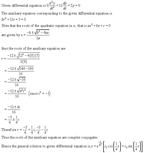 Stewart-Calculus-7e-Solutions-Chapter-17.1-Second-Order-Differential-Equations-12E
