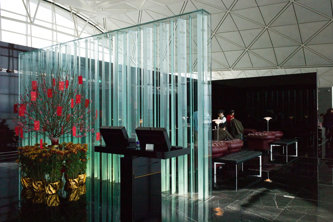 Cathay Pacific First Class Lounge - The Wing