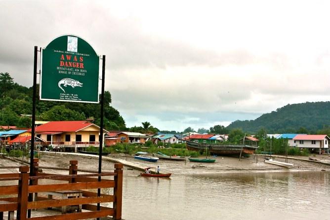 Bako kansallispuisto Borneo