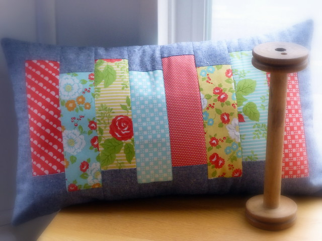 Simple Strips Cushion