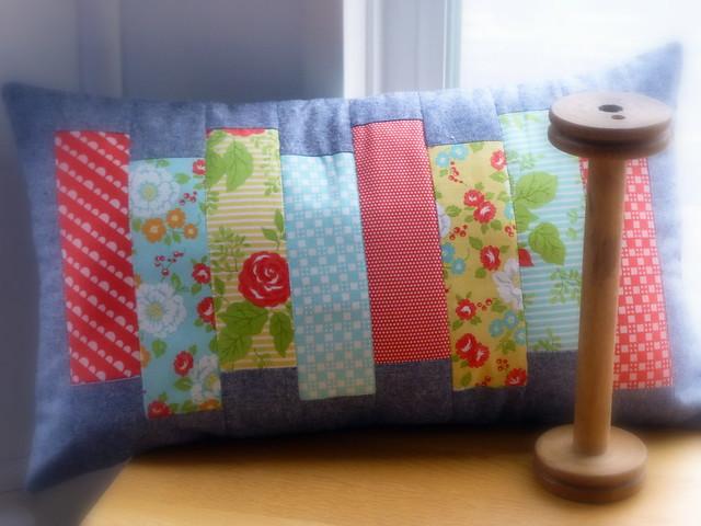 Simple Strips Cushion