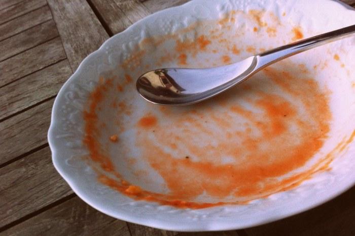finie la soupe de légumes