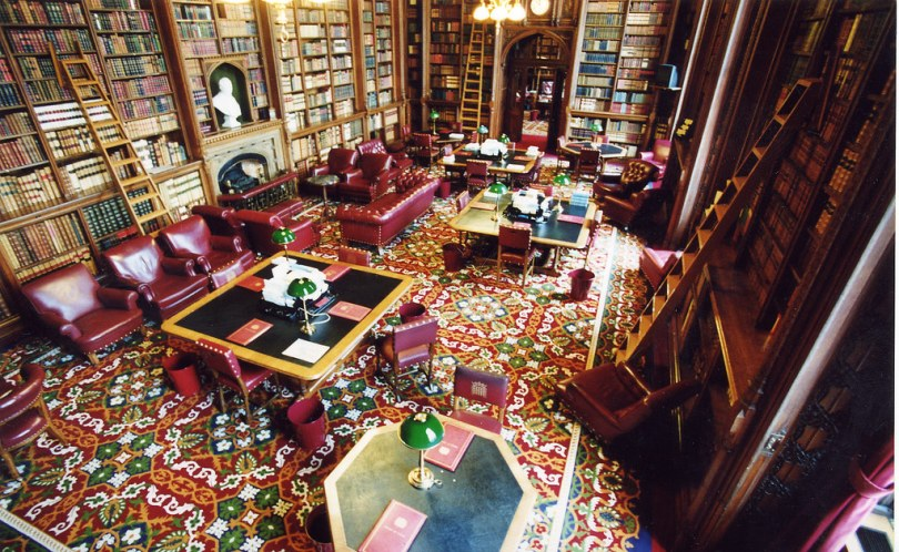 House of Lords Library: Derby Room