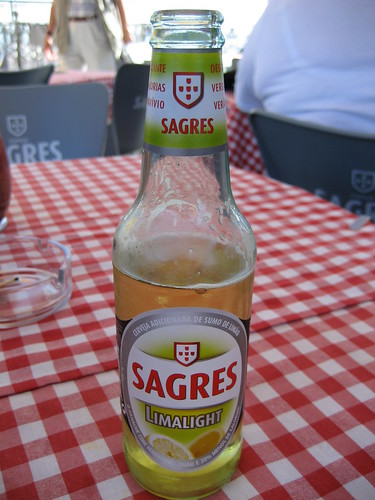 Cerveza Sagres portuguesa. ViajerosAlBlog.com.