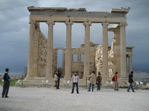 Eracteón en la Acrópolis de Atenas. ViajerosAlBlog.com.