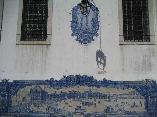 Detalles de una fachada en Lisboa. ViajerosAlBlog.com.