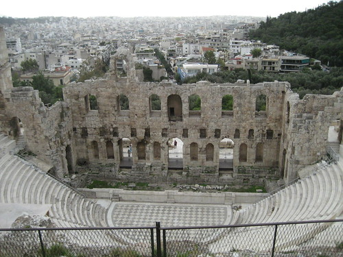 Odeón de Herodes Ático. ViajerosAlBlog.com.