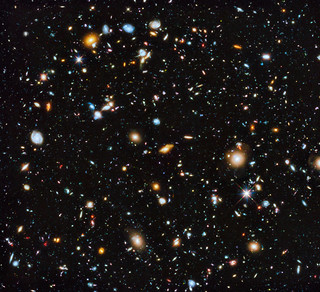 Hubble's Ultra Deep Field in UV