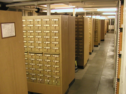 University of Michigan Library Card Catalog  This is the