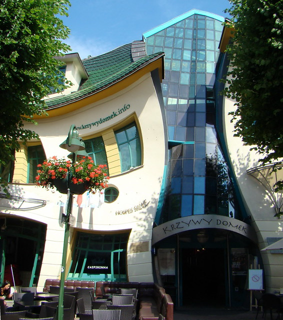 Polonia Sopot Krzywy Domek casa Crooket 07