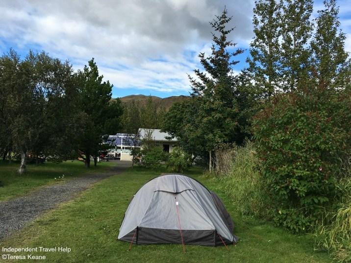 Hvergerdi campsite