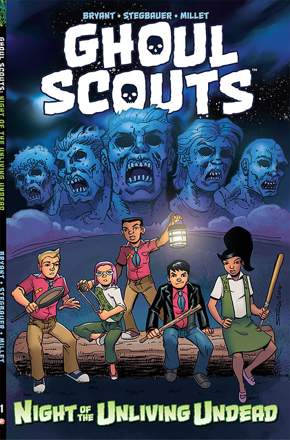 30051697796_7bbf0f4396_z ComicList Preview: GHOUL SCOUTS VOLUME 1 NIGHT OF THE UNLIVING UNDEAD TP
