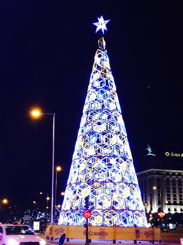 Navidad, Plaza de Colón. Madrid