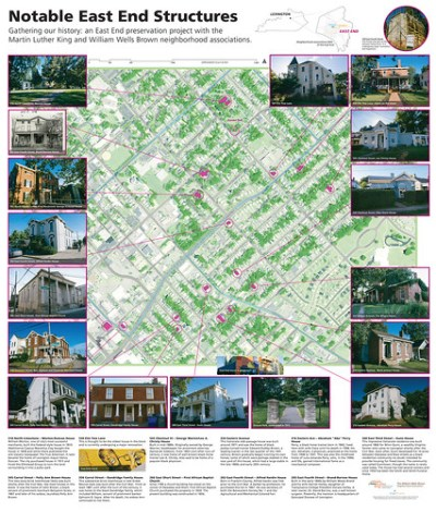 East End Preservation Project map