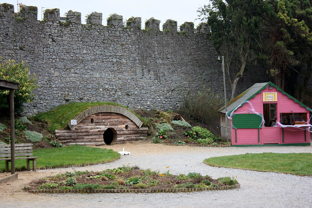 The hobbit house in the Birr Caslte Playgound