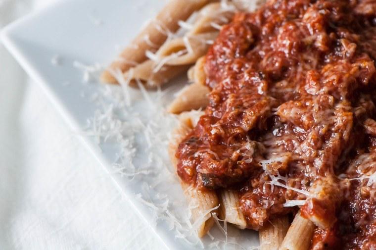 Sicilian Spaghetti Sauce 4