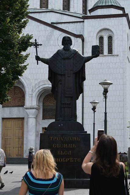 St Sava Statue