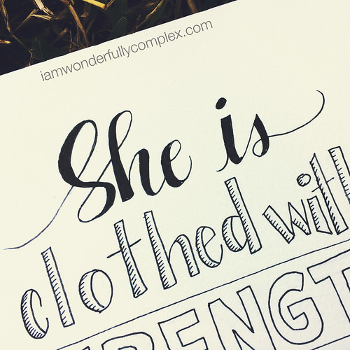 Word Art Wednesday: Proverbs 31:25