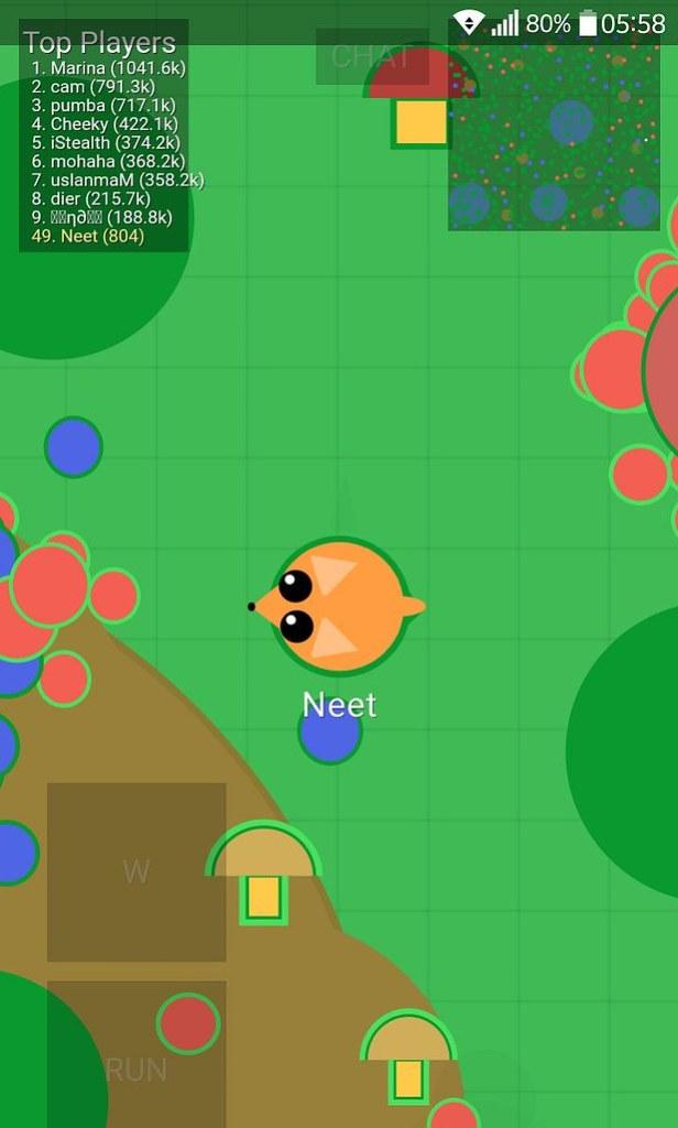 mope io menjadi fox