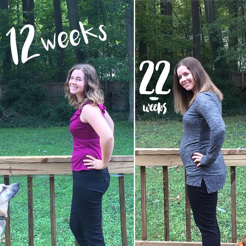 12 weeks vs 22 weeks