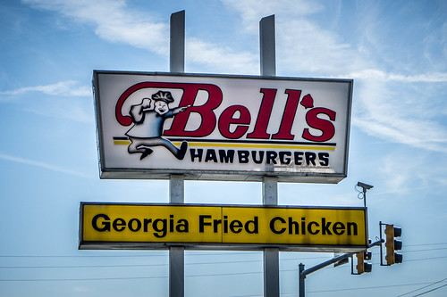 Bell's Cafe Sign