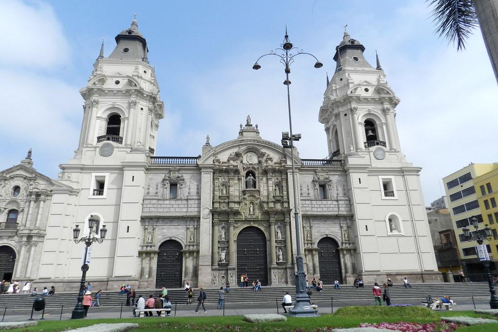Peru Lima Catedral de Lima 01