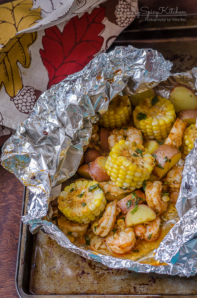 Bakeathon, Blogging Marathon, One Pot Dish, One Pot Meal, One Foil Packet Meal, Broiled Shrimp boil foil packet, Grilled Shrimp Boil Foil Packet, Broiled Shrimp Packet, Grilled Shrimp Packet, Shrimp, Grilled Shrimp,  Broiled Shrimp,