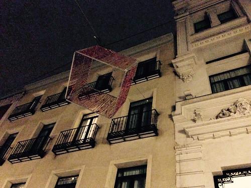 Navidad 2016-2017, Barrio de las Letras. Madrid