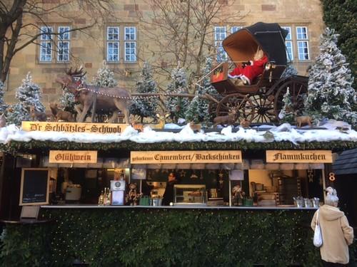 Stuttgart Christmas market: Spätzle-Schwob