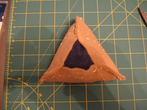 Felt Hamantaschen Craft