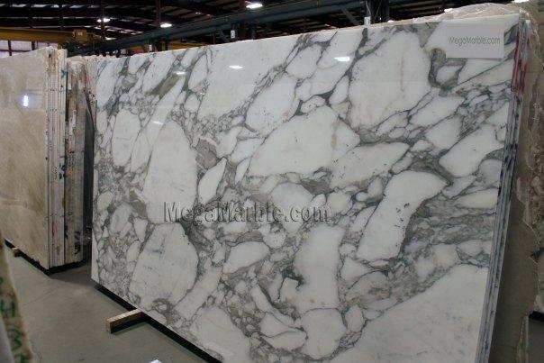 Arabescto Vagli White Premium Marble Slab