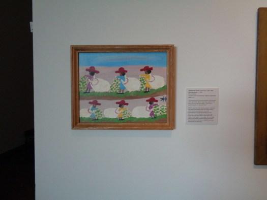 Clementine Hunter Exhibit at LSU Museum of Art, Baton Rouge LA