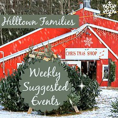 """""""Hilltown Families helped me get out after I had my first baby and was feeling a bit isolated. Everyday there was a list of things on the website to help me connect with the community and other new mothers. Now I have two kids and never have trouble finding things to do as a family thanks to Hilltown Families."""" – Erin Murphy (Sunderland, MA)"""