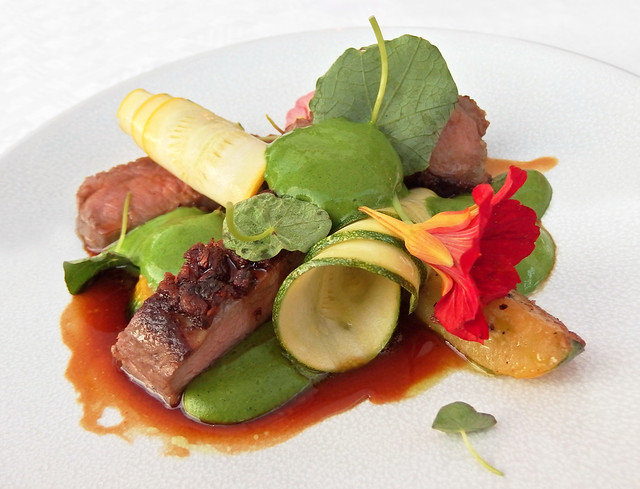 Lamb and courgette