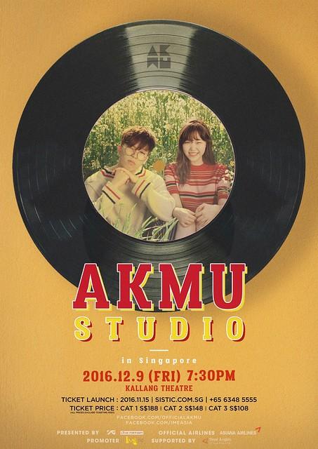 Akdong Musician - AKMU STUDIO IN SINGAPORE