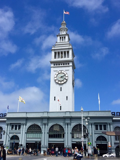 The ferry building in San Francisco