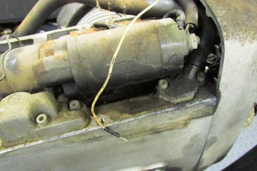 Rusty Starter Motor