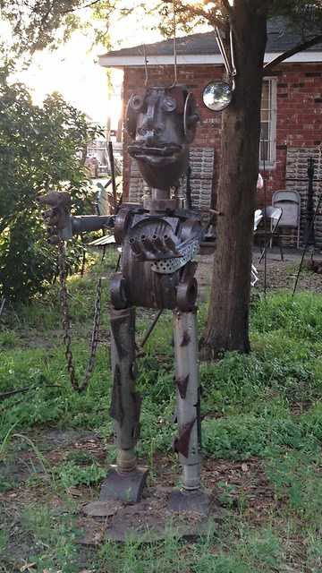 Metalwork Art by Joseph Jilbert, Baton Rouge LA
