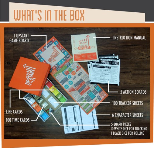 Upstart box contents