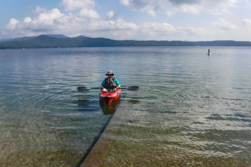 Lake Jocassee with Bennie Waddell-26