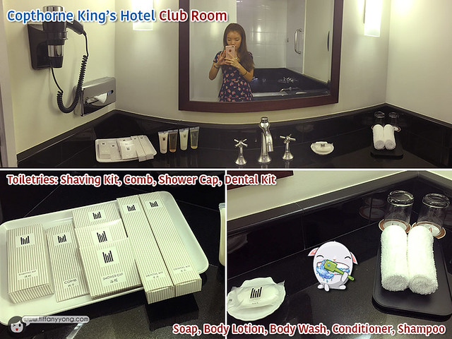 Copthorne Kings Hotel Club Room Bathroom