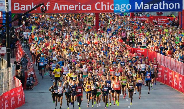 Maratón de Chicago 2016