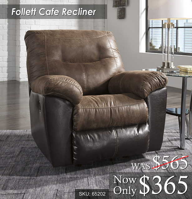 Follet Cafe Recliner - 65202-25