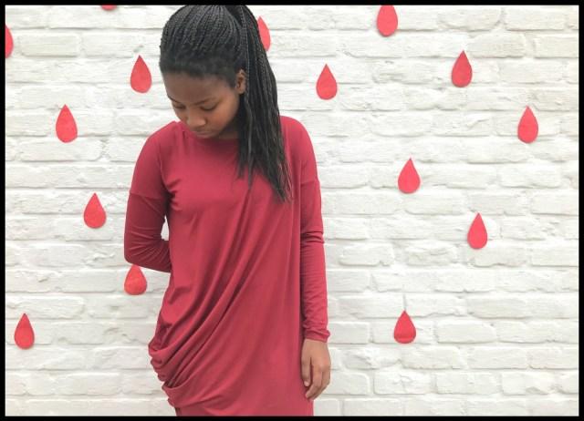drop dress 1
