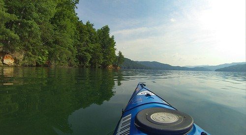 Lake Jocassee Kayaking-43