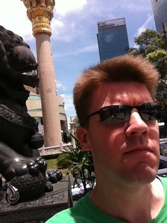 Me at Jing'an Temple