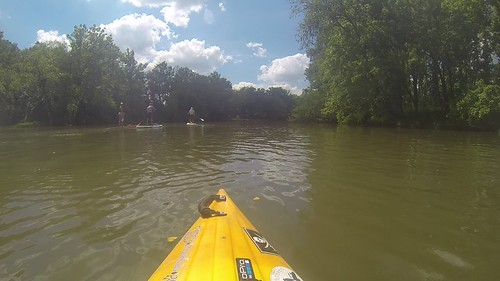 Kayaking and SUP on Saluda Lake