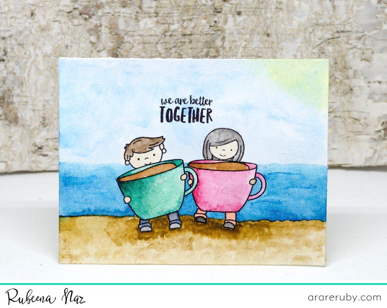 Summer Coffee Card NT 01