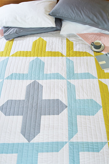 Attic Crosses Quilt (LPQ June16)
